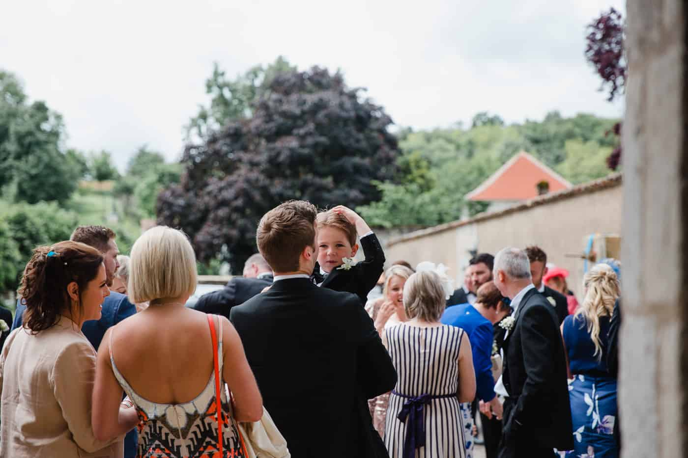 Chateau de la Couronne Wedding Photography - Wedding Guests