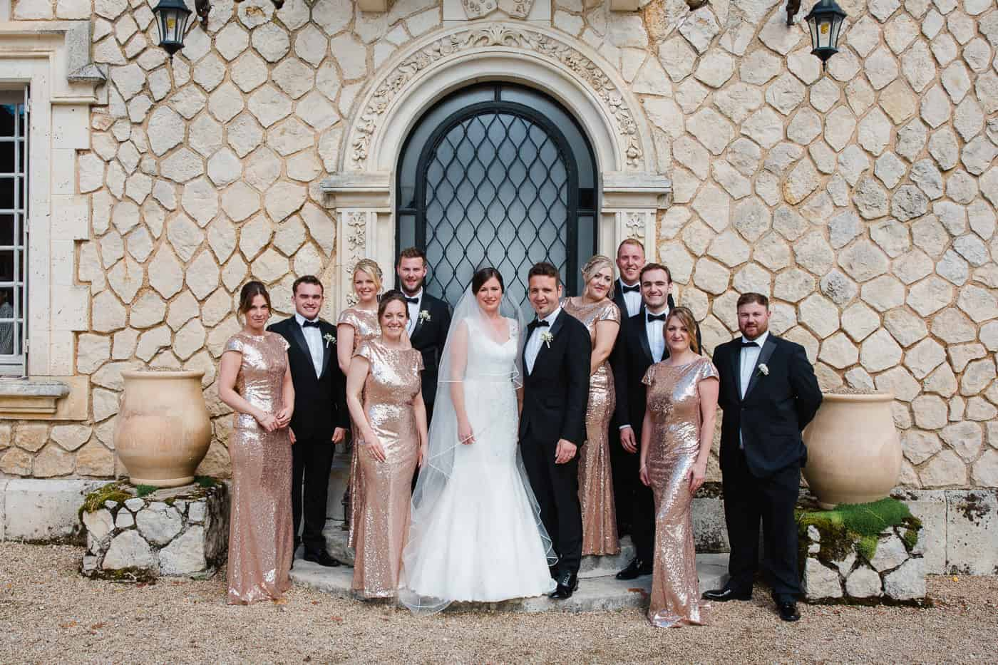 Chateau de la Couronne Wedding Photography - Bridal Party