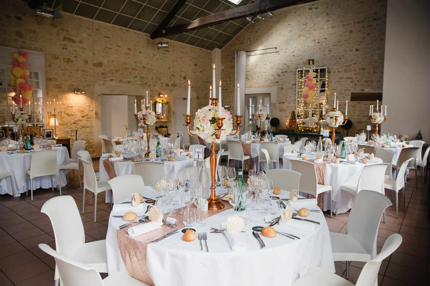 Chateau de la Couronne Wedding Photography - Wedding Breakfast