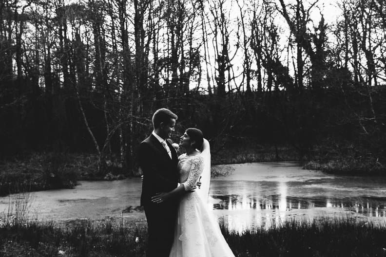 Fairy Hill Wedding Photography - Bride and Groom