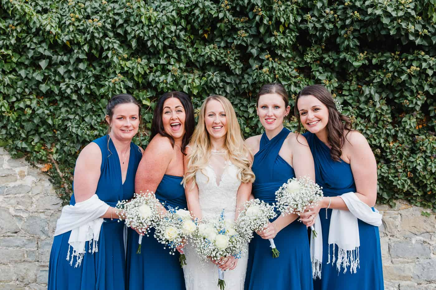 Rosedew Farm Wedding Bridesmaids