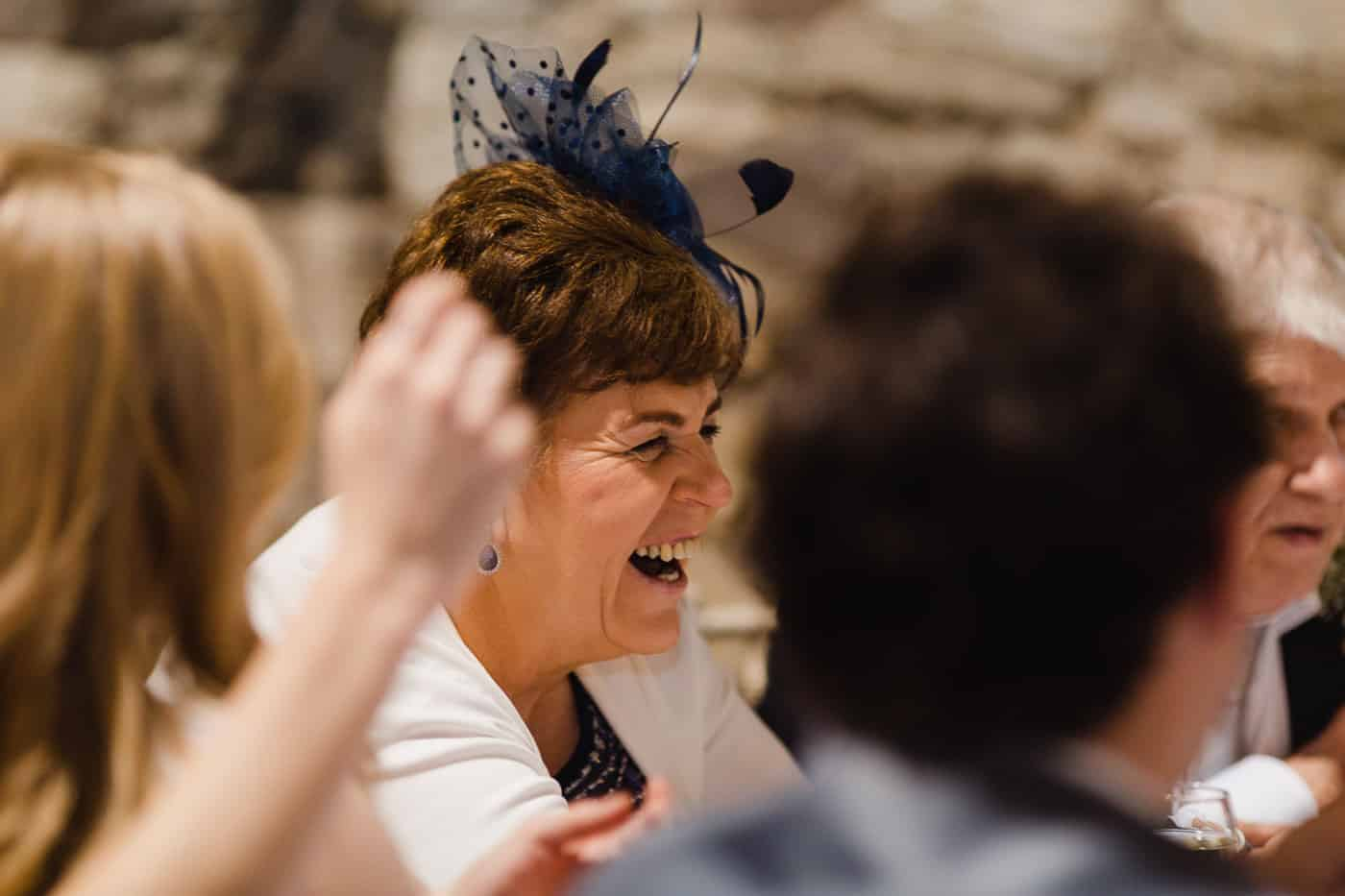Pencoed House Wedding laughter