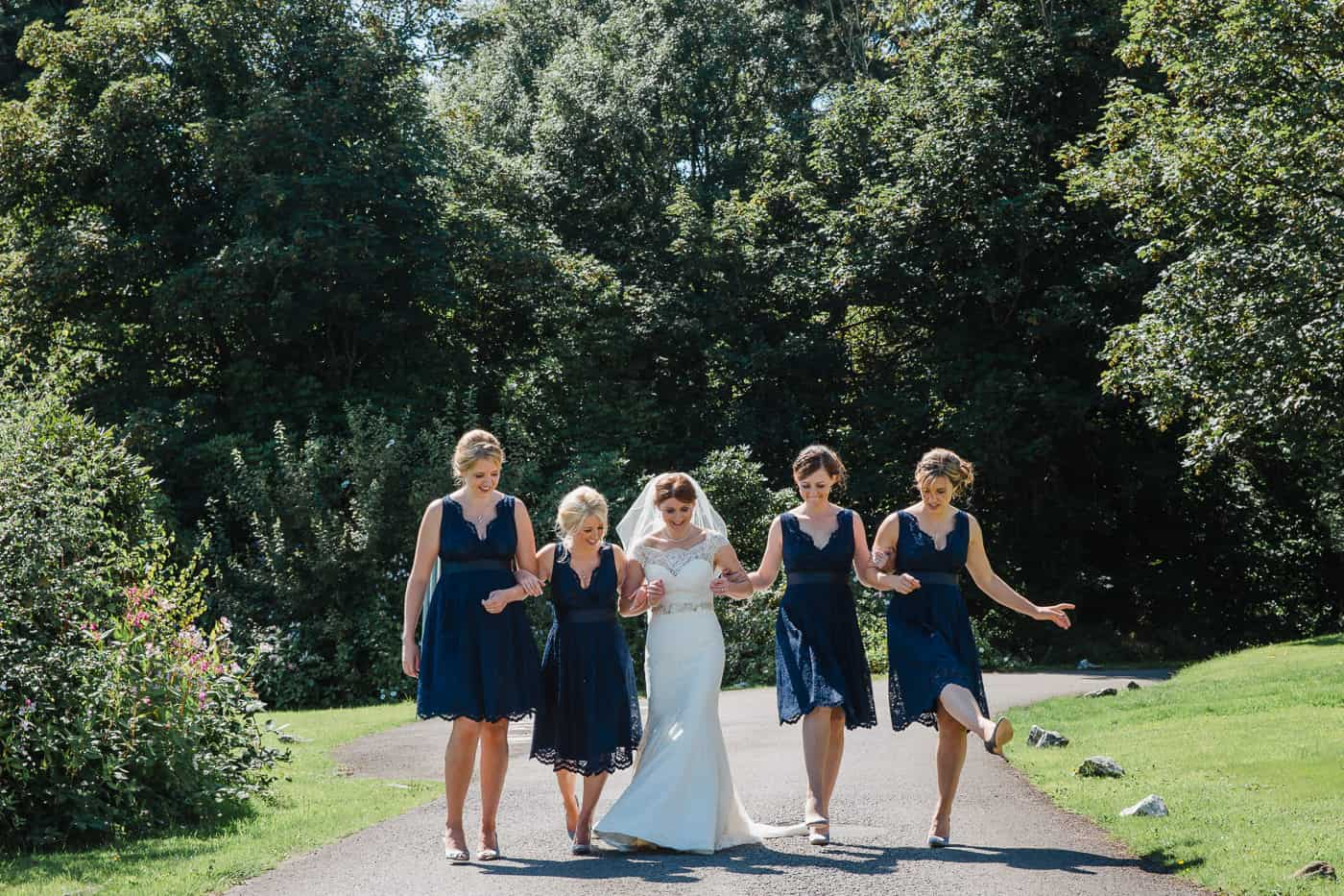 Court Colman Manor Bridesmaids