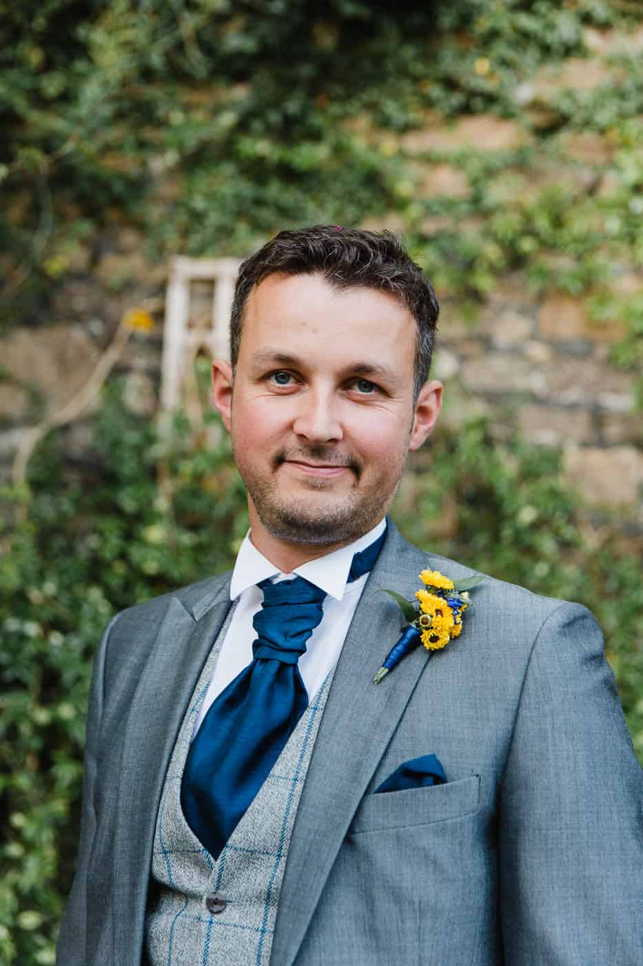 South Wales Wedding Photographer Groom Portrait