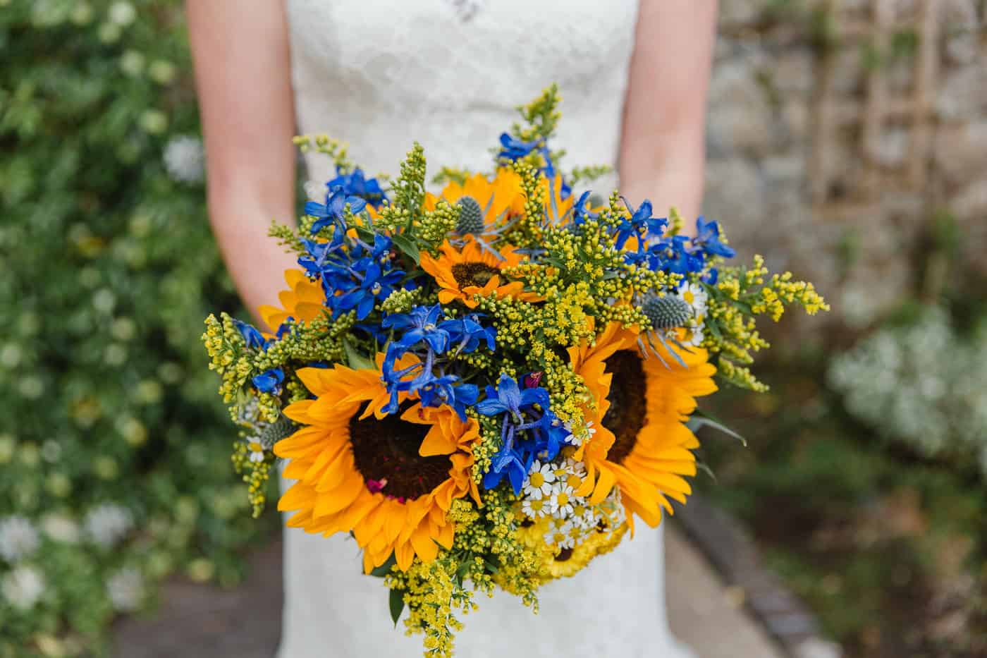 South Wales Wedding Photographer Bridal Bouquet