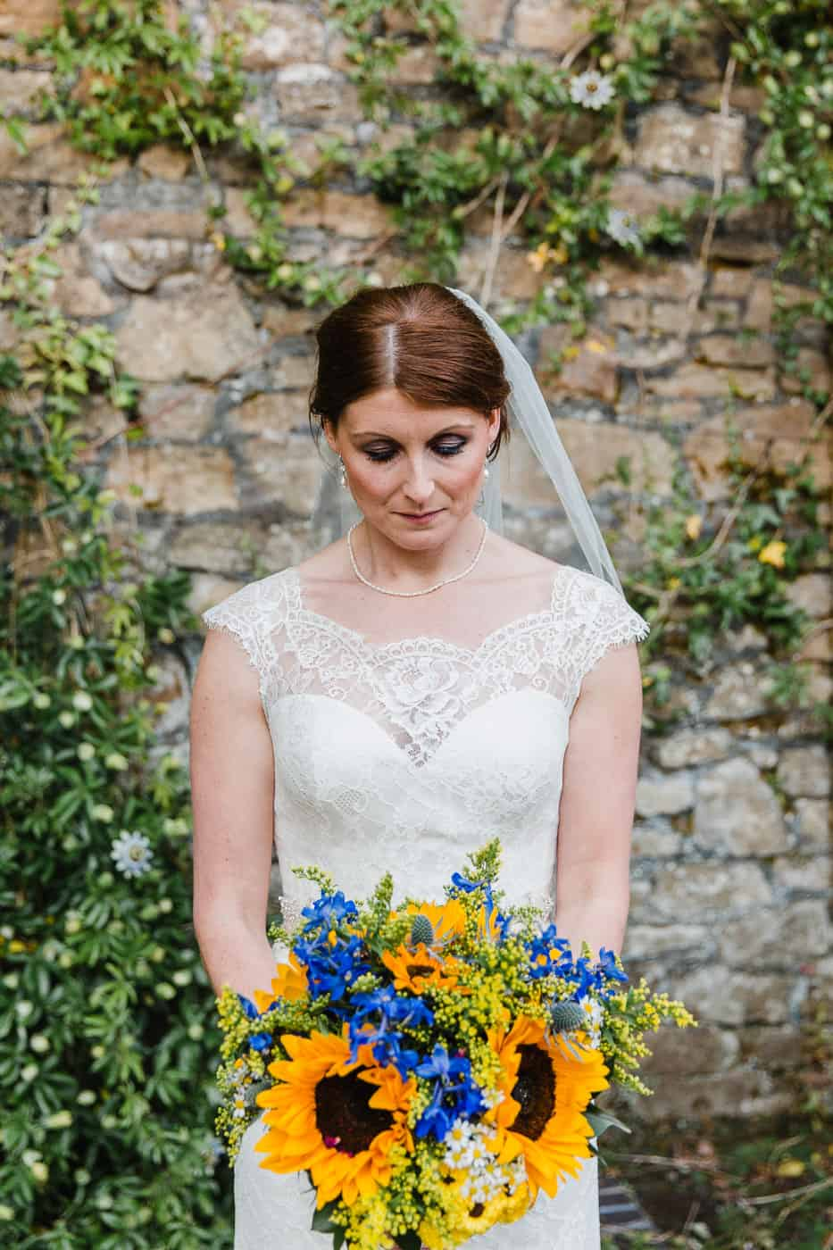 South Wales Wedding Photographer Bride Portrait