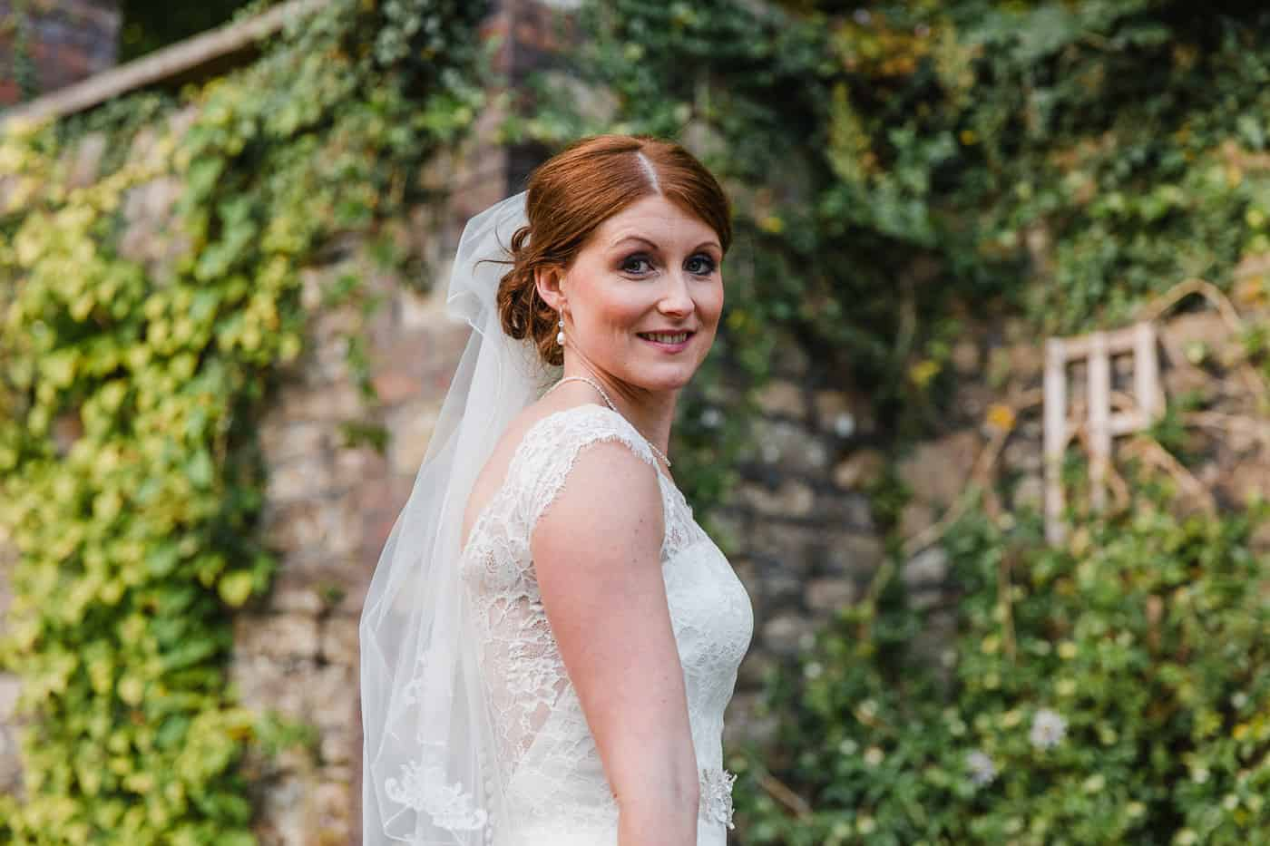 South Wales Wedding Photographer Bridal Portrait
