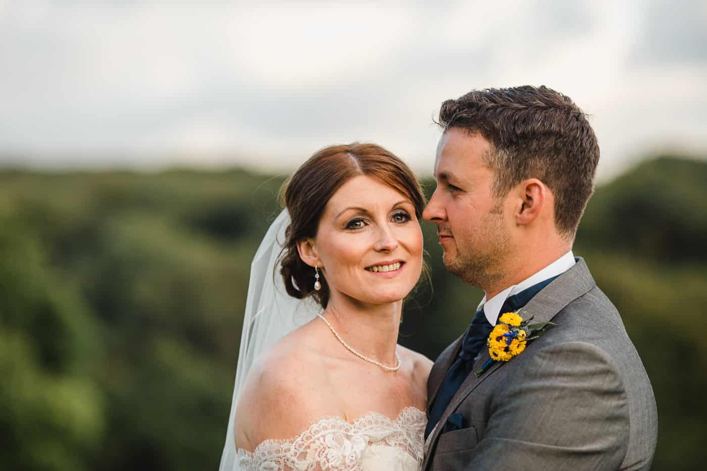 South Wales Wedding Bride and Groom