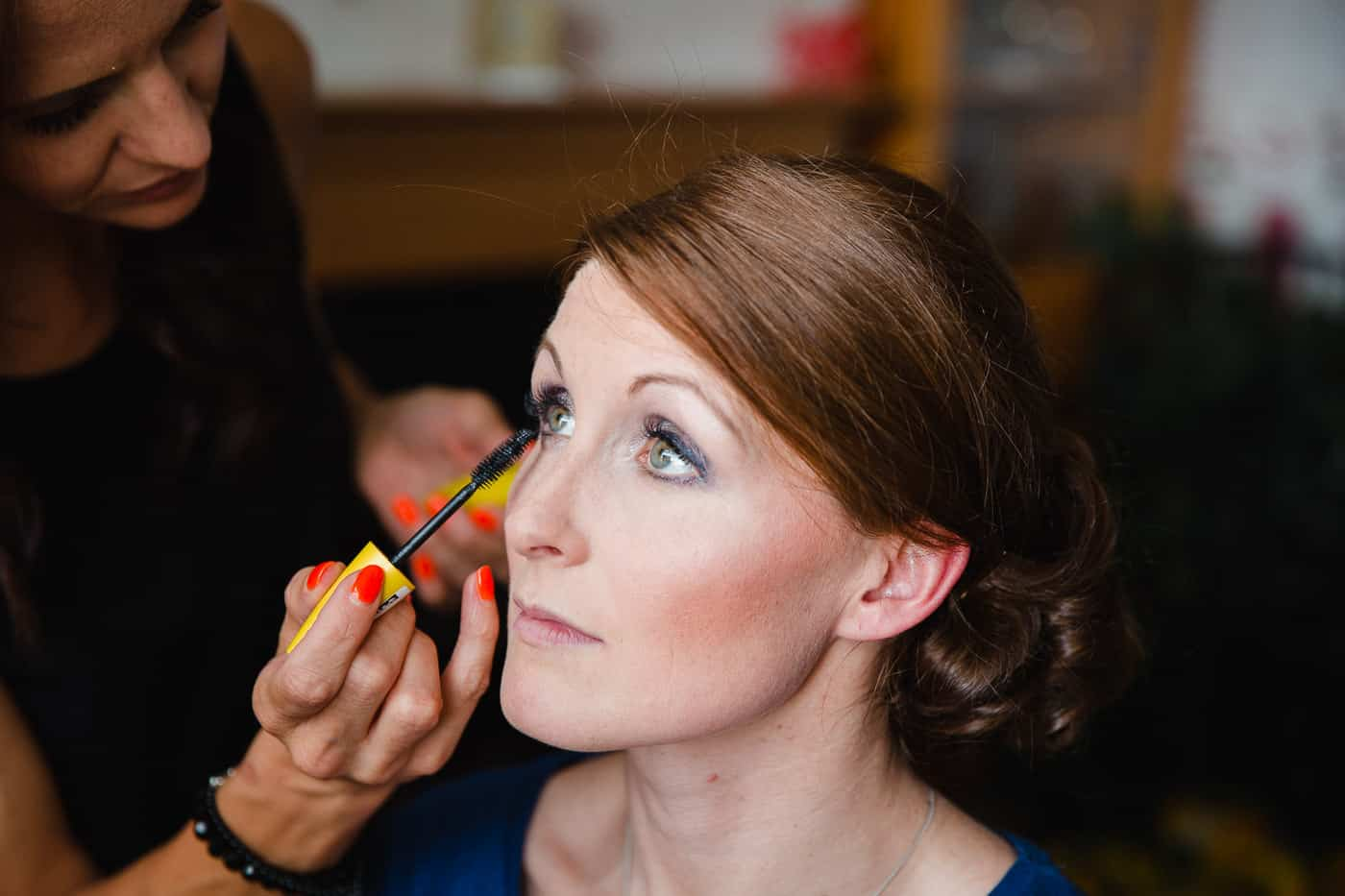 South Wales Wedding make-up