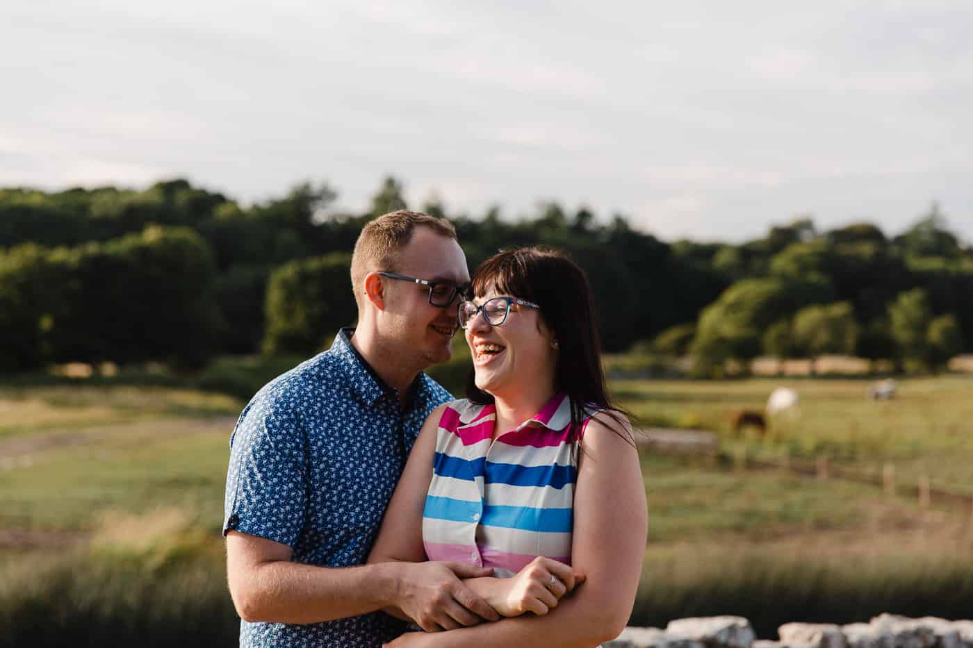 Ogmore-Castle-Couples-Session-giggling