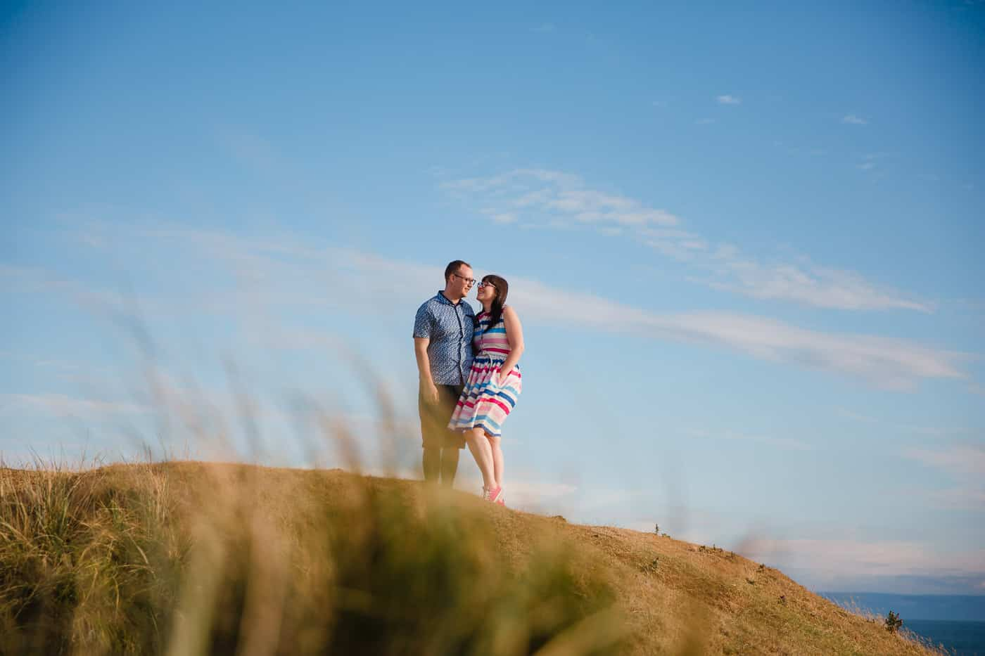 Ogmore-Beach-Engagement photo