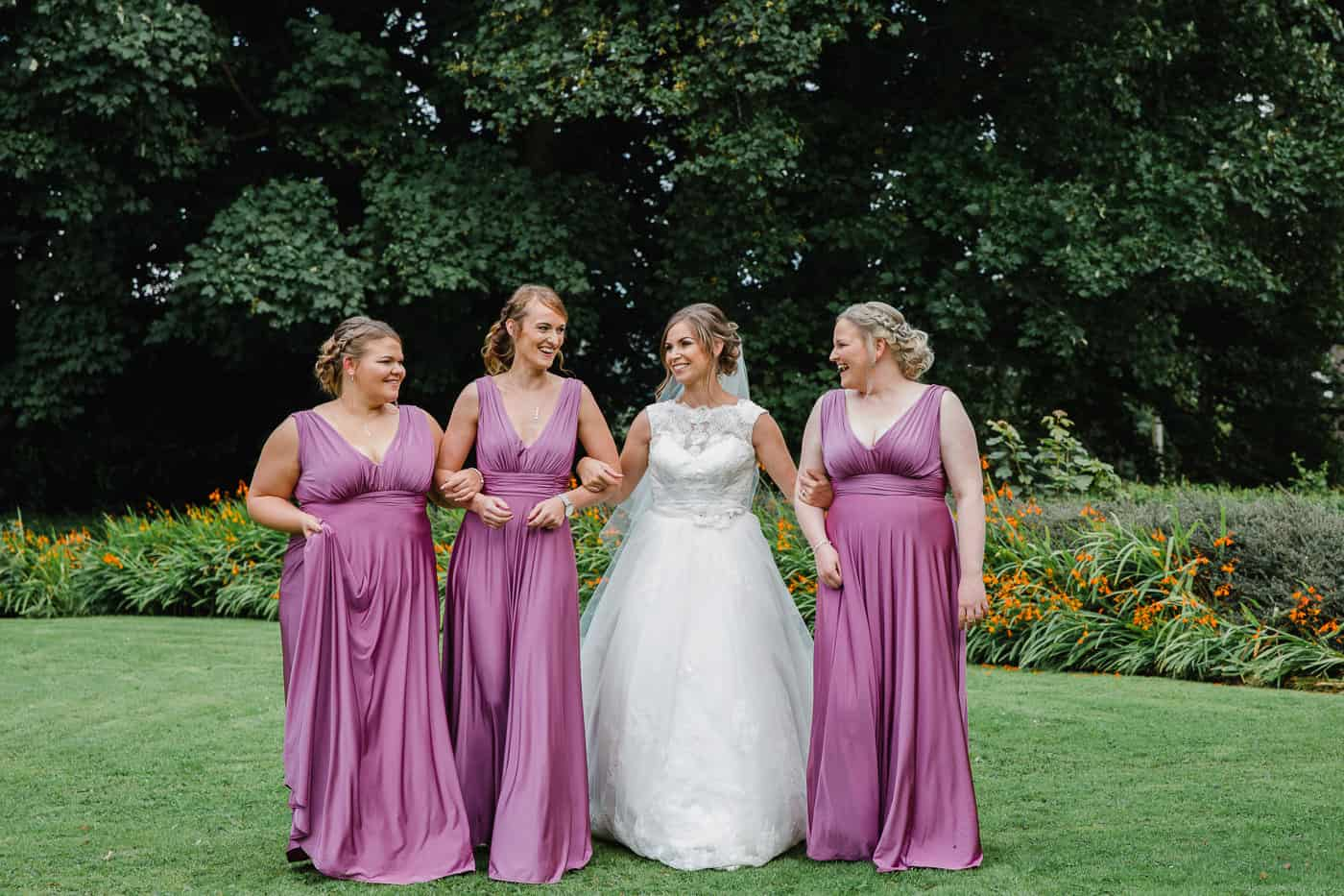 Maes Manor Bridal Party