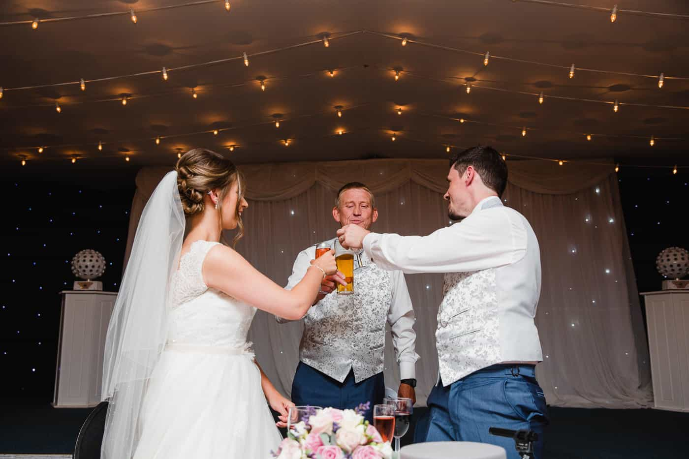 Maes Manor Wedding Cheers