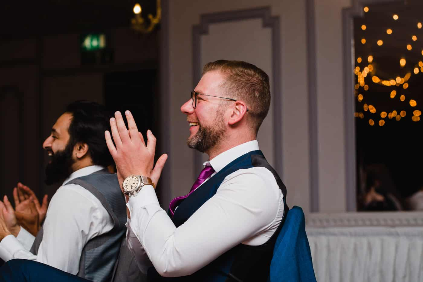 Maes Manor Wedding speech - laughing