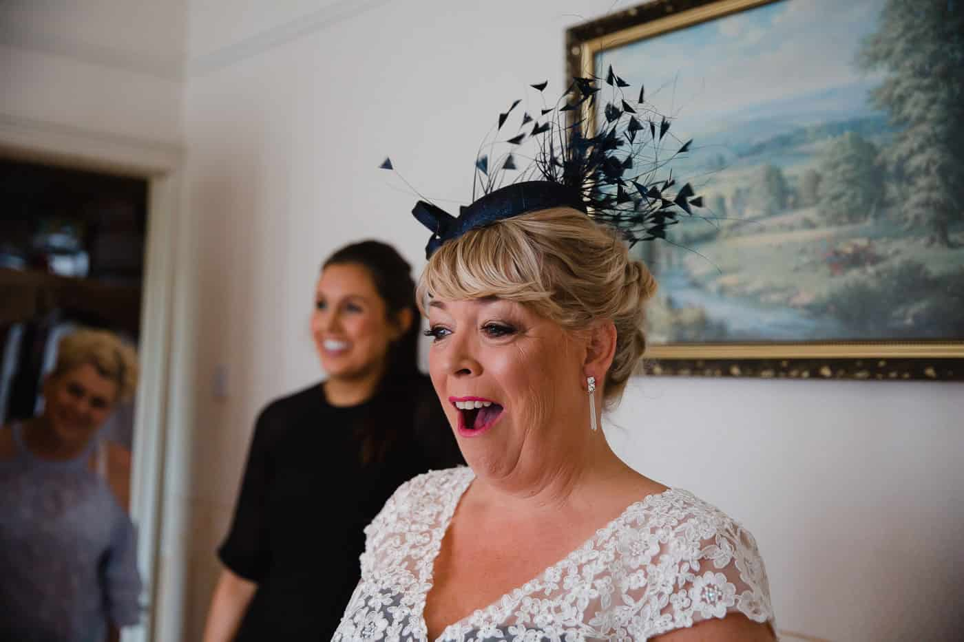 Penarth Wedding Photography - Mother of the bride