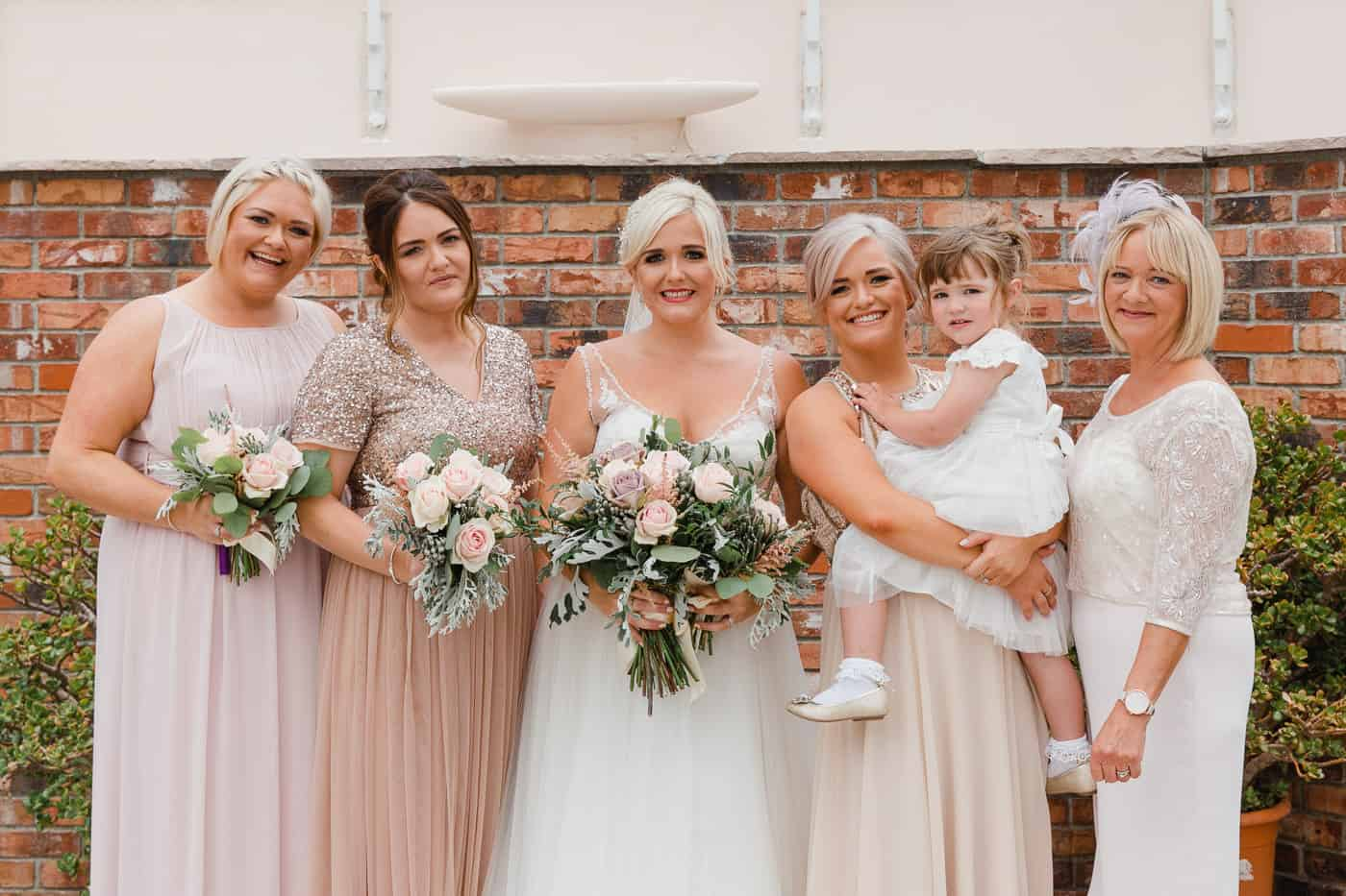 Broadway Country House wedding - family photos