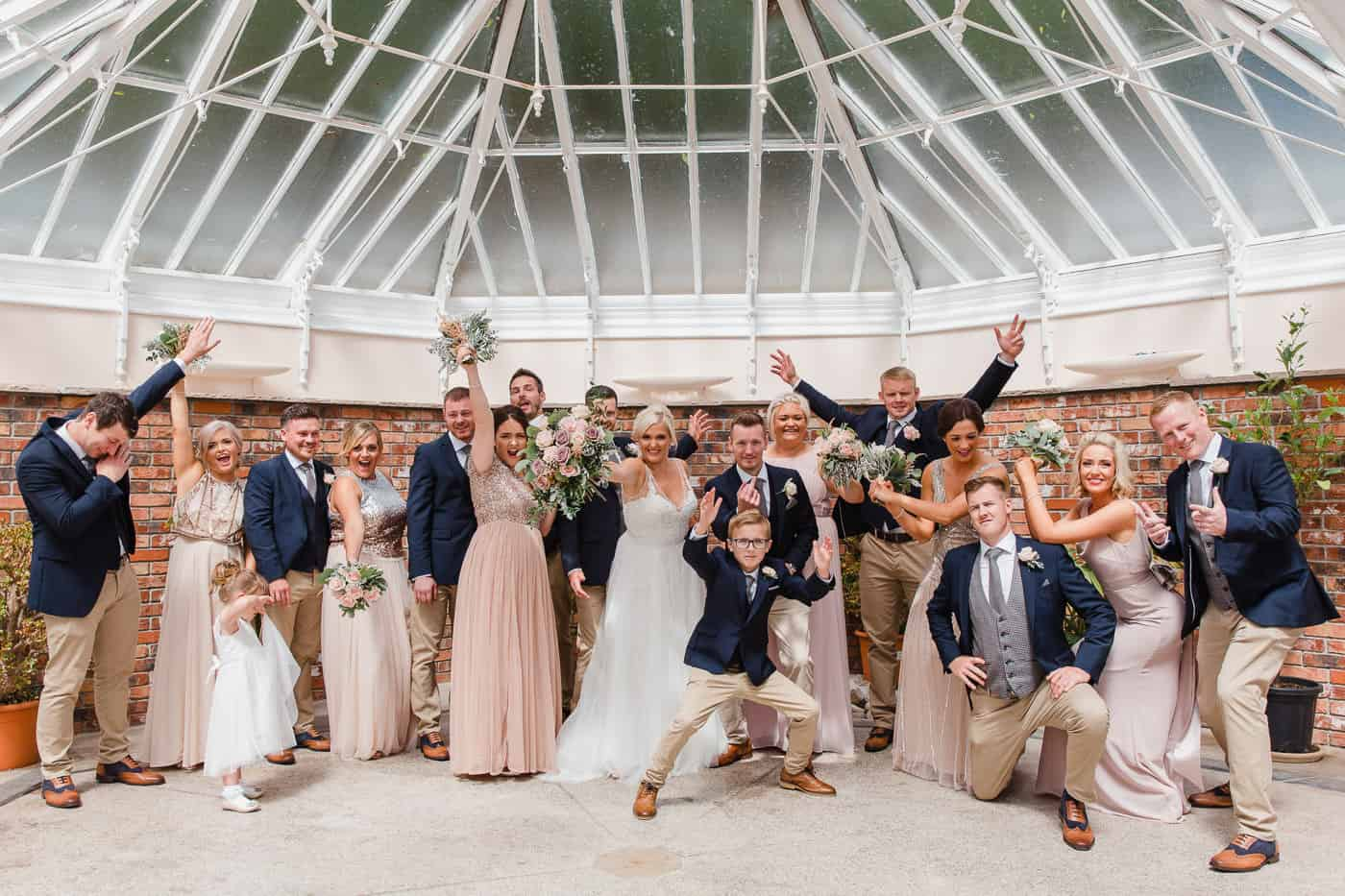 Broadway Country House wedding - bridal party