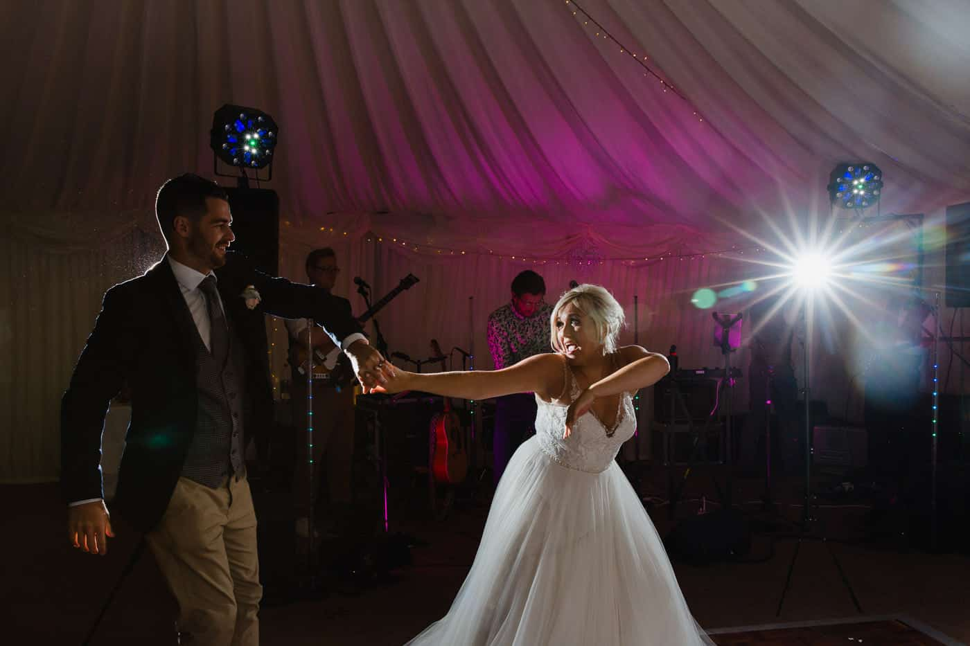 Broadway-Country-House-Wedding First Dance