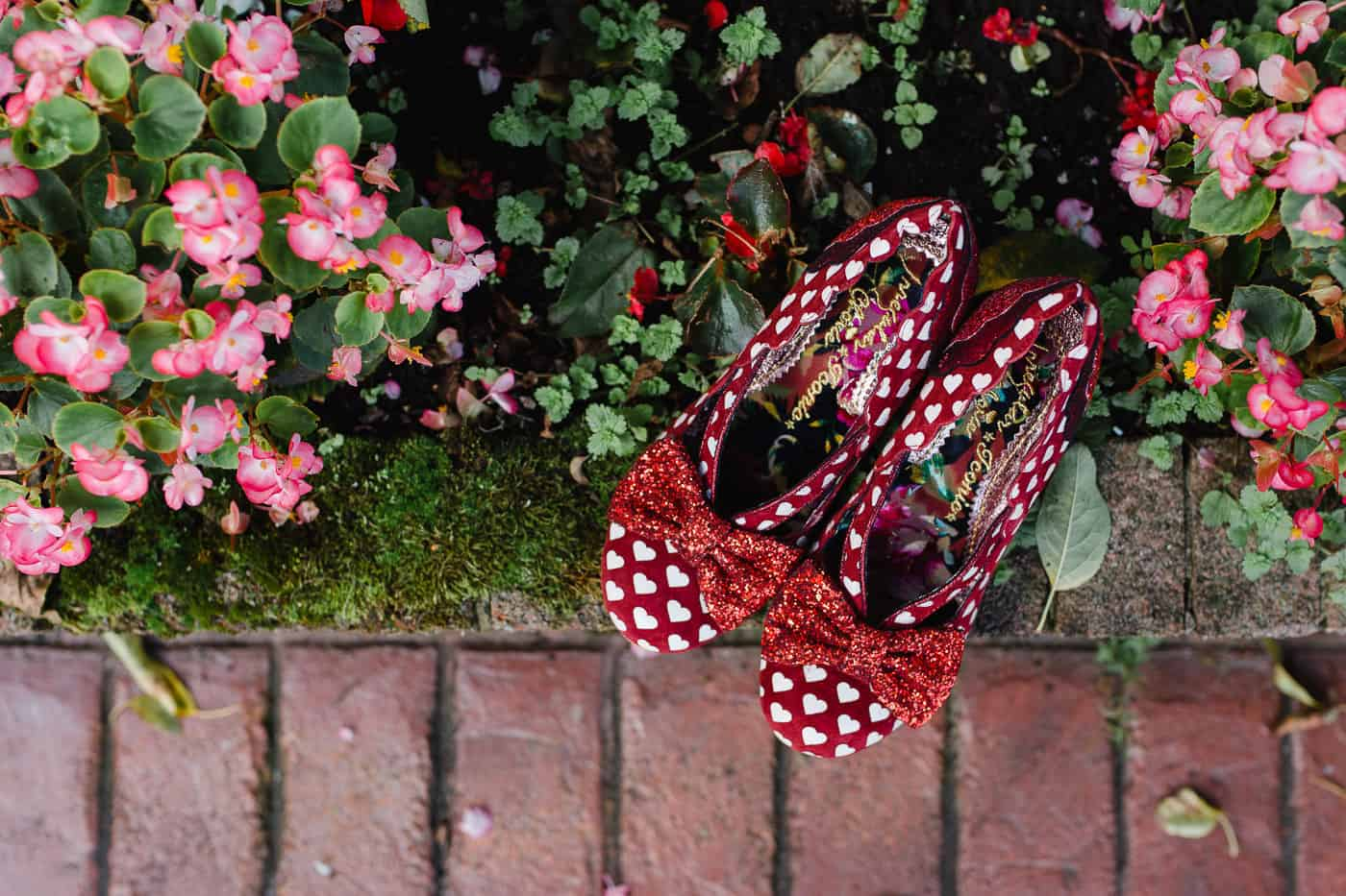 Irregular Choice Red Shoes