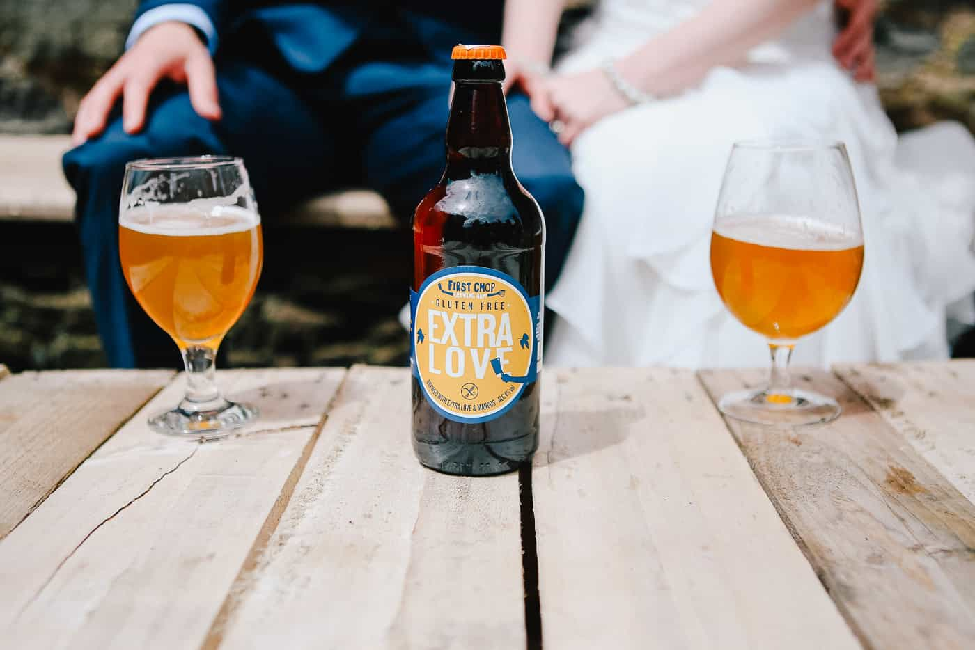 extra love ale bottle