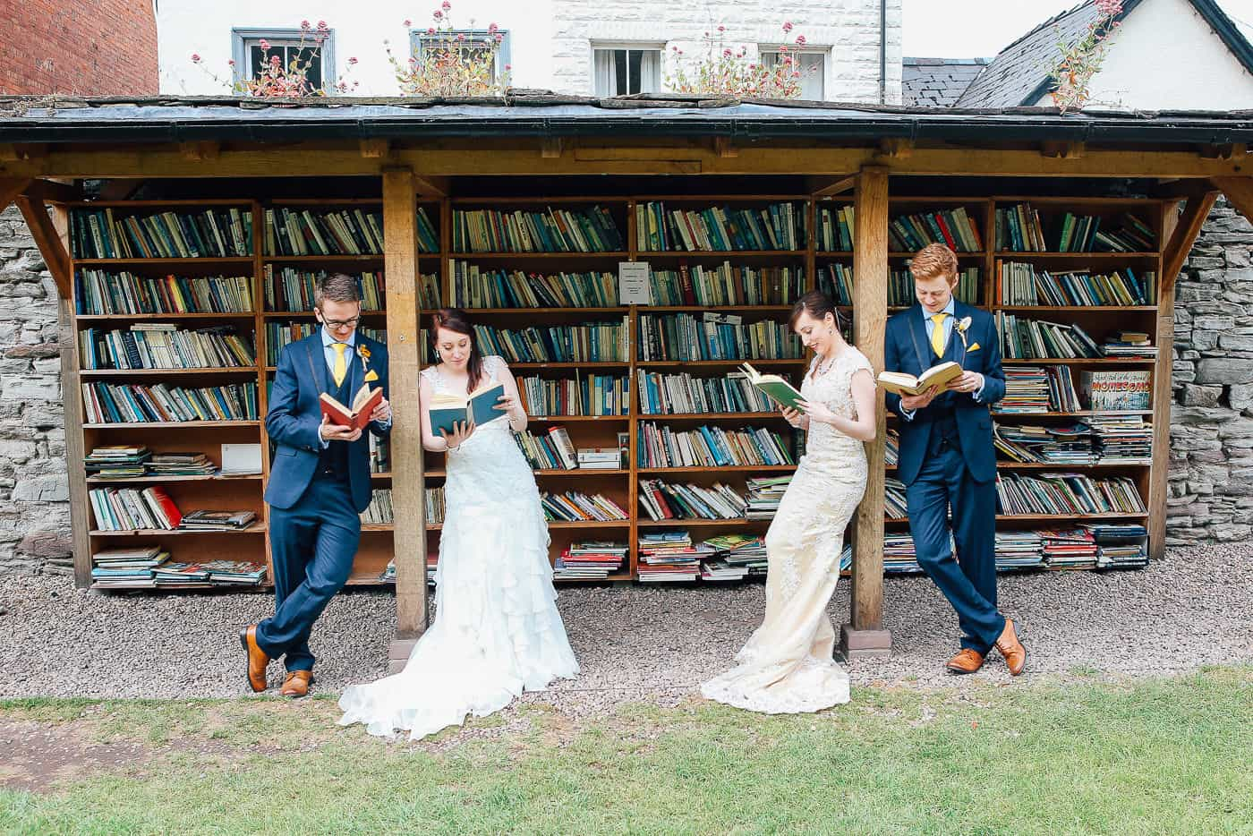 book themed wedding michelle huggleston 17