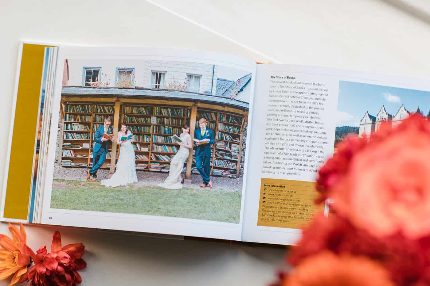 book themed wedding michelle huggleston 2
