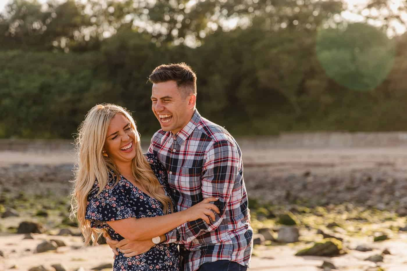 Langland Beach Engagement Session Michelle Huggleston 15