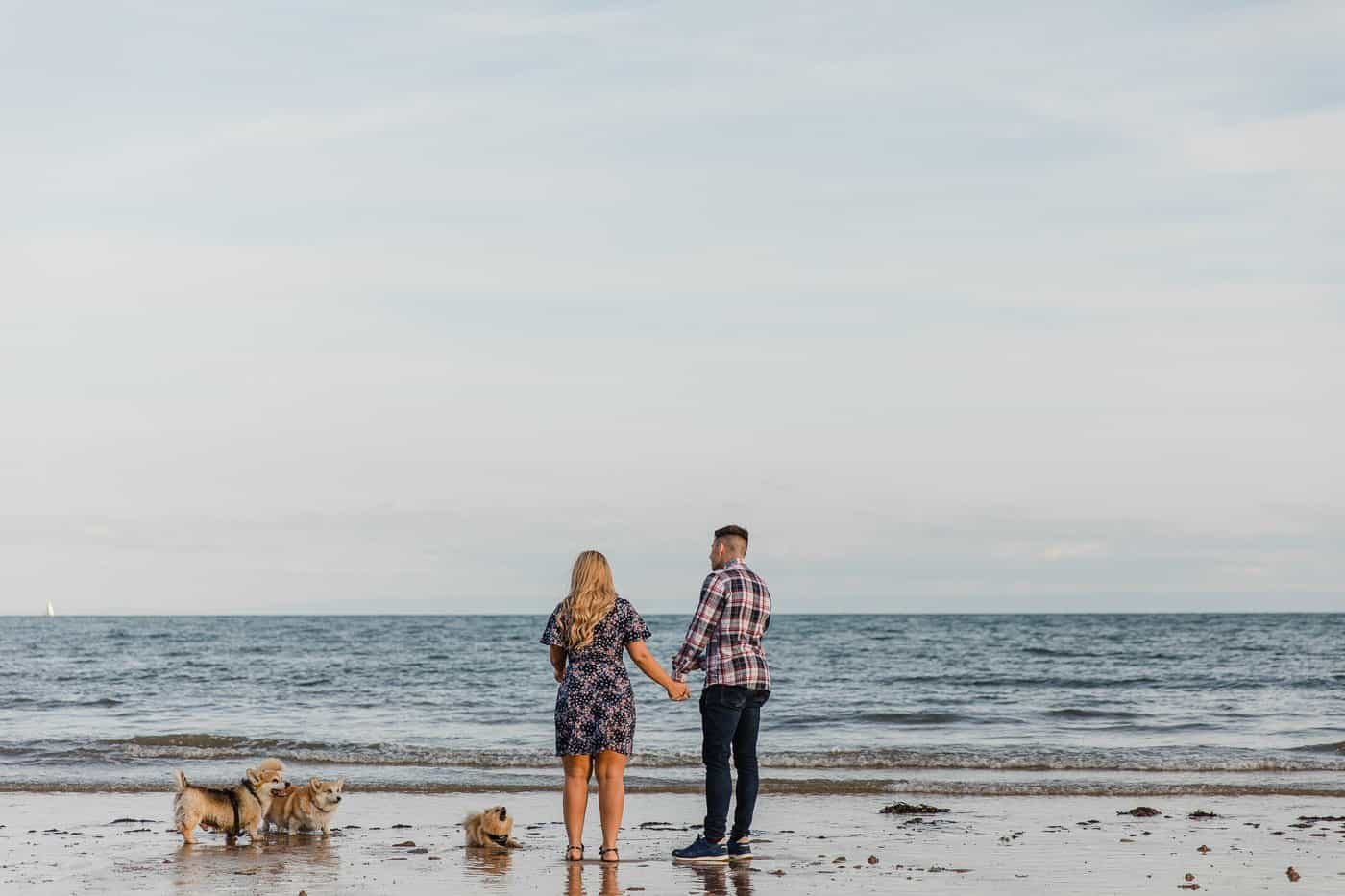 Langland Beach Engagement Session Michelle Huggleston 18