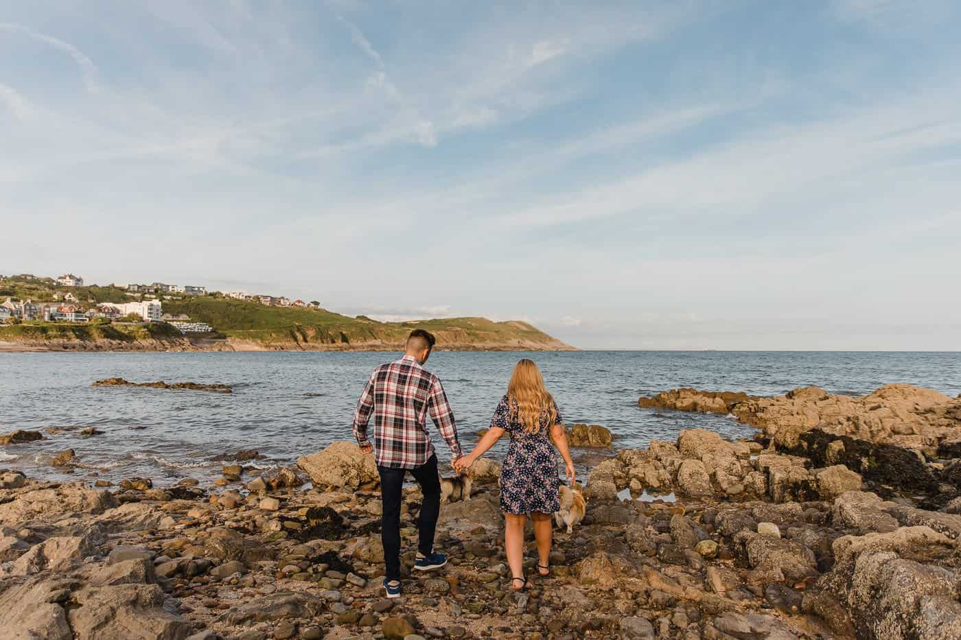 Langland Beach Engagement Session Michelle Huggleston 19