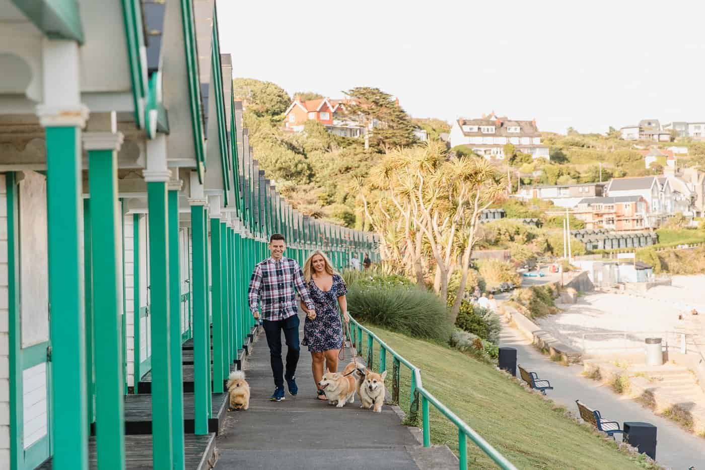 Langland Beach Engagement Session Michelle Huggleston 2