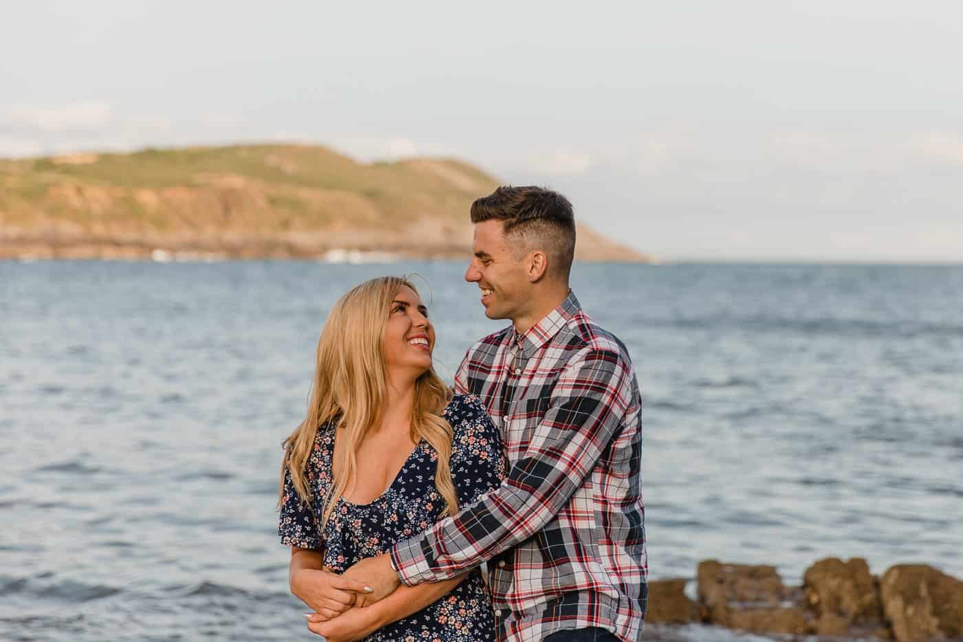 Langland Beach Engagement Session Michelle Huggleston 20