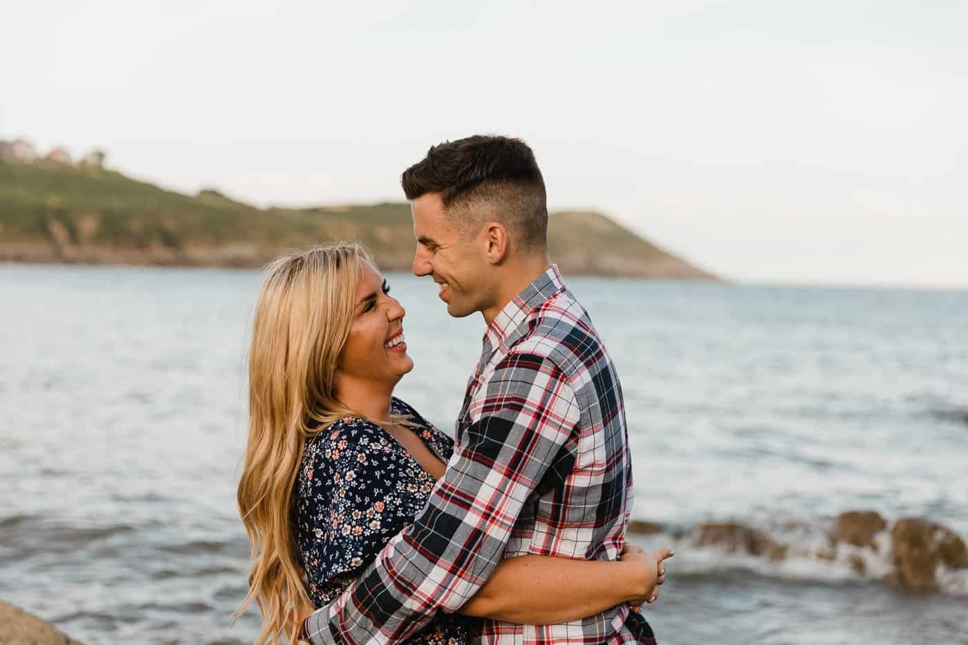Langland Beach Engagement Session Michelle Huggleston 24