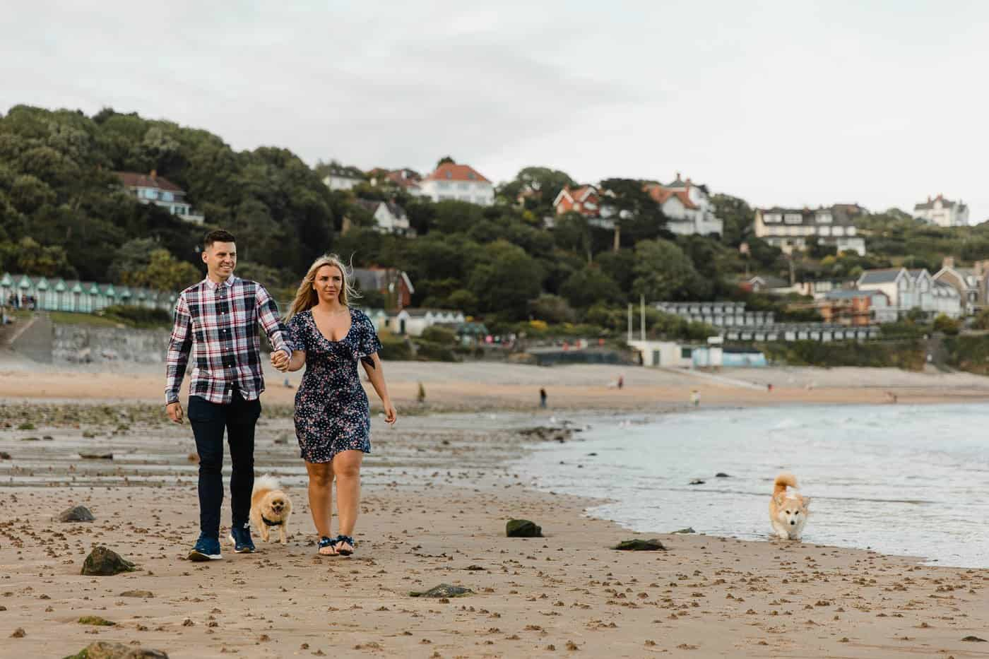 Langland Beach Engagement Session Michelle Huggleston 28
