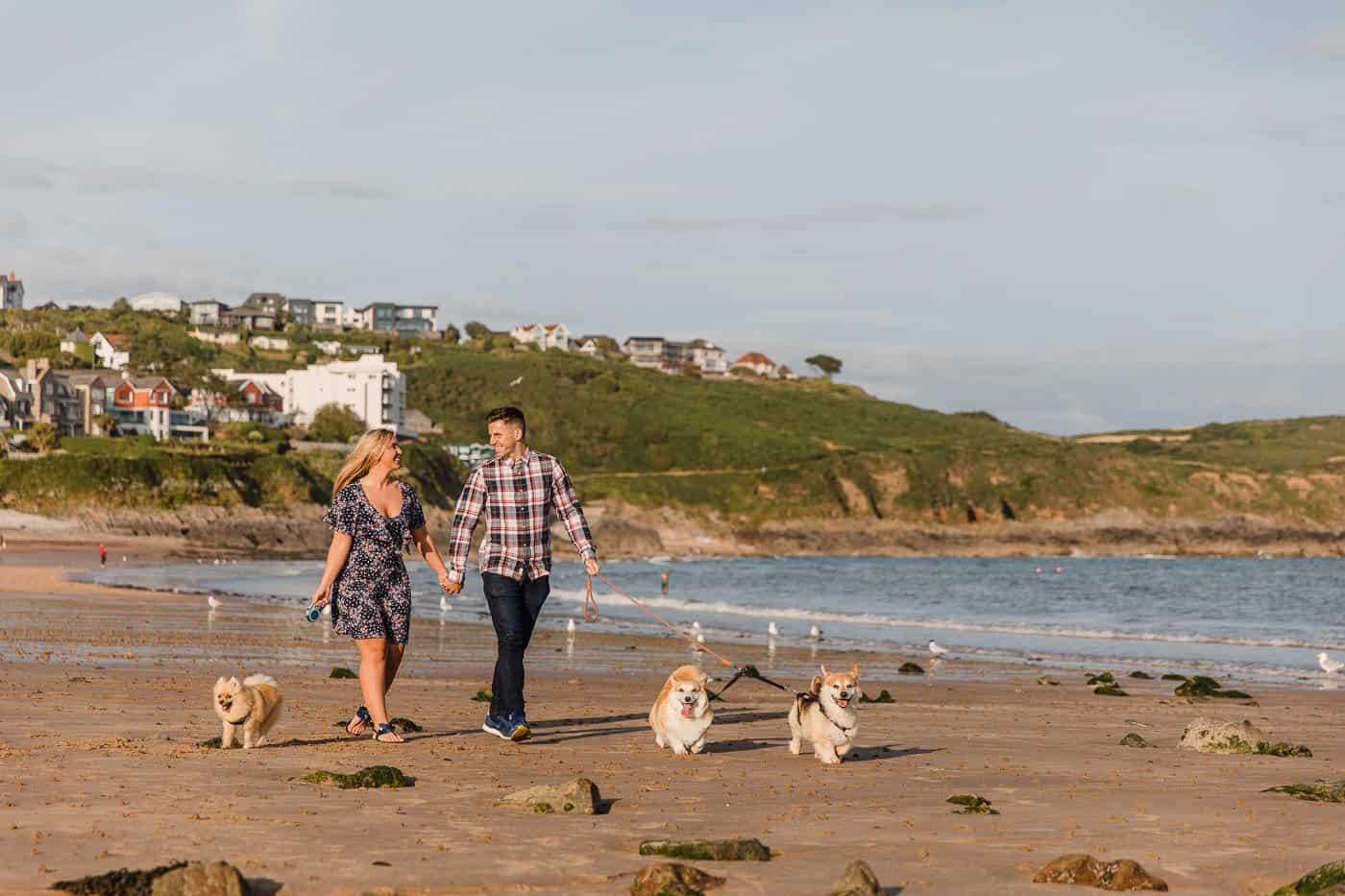Langland Beach Engagement Session Michelle Huggleston 4