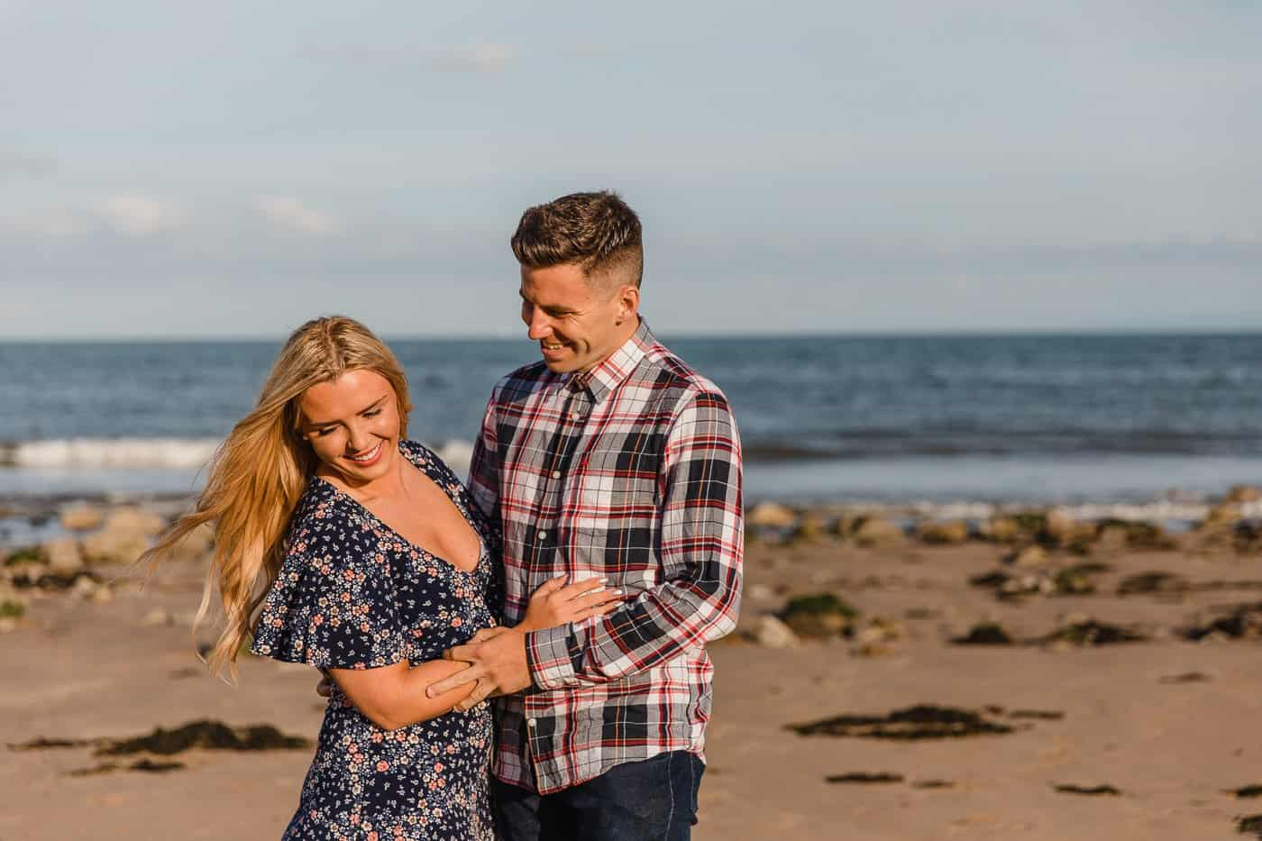 Langland Beach Engagement Session Michelle Huggleston 6