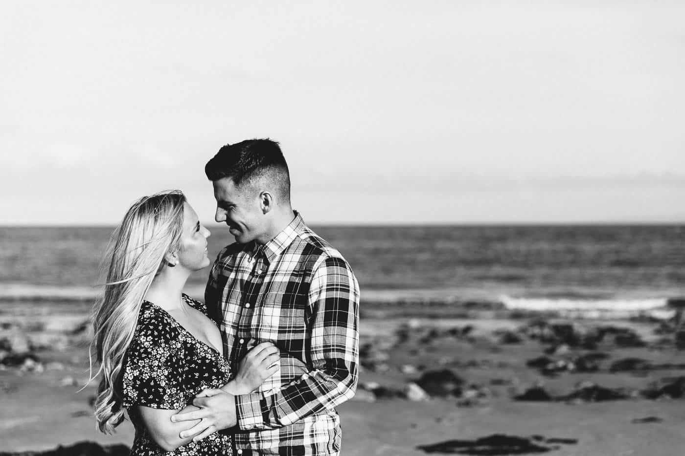Langland Beach Engagement Session Michelle Huggleston 7