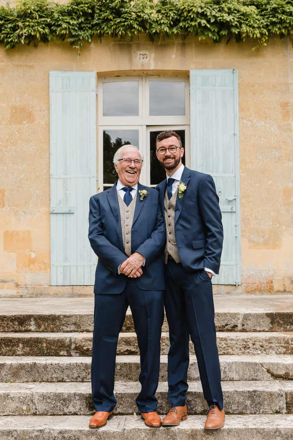 groom and granddad